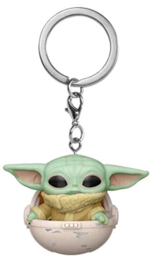 Star Wars: The Mandalorian - The Child in Hover Pram Pocket Pop! Keychain