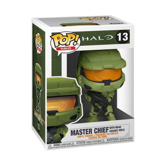 Halo Infinite - Master Chief with MA40 Assault Rifle Pop! Vinyl