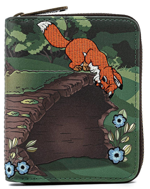 The Fox and the Hound - Copper & Todd Loungefly Zip Purse