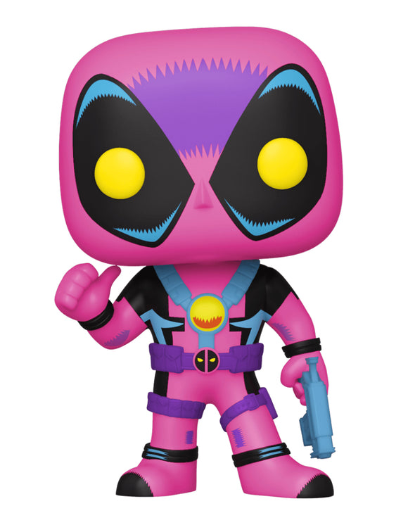 Deadpool - Deadpool Blacklight US Exclusive Pop! Vinyl [RS]
