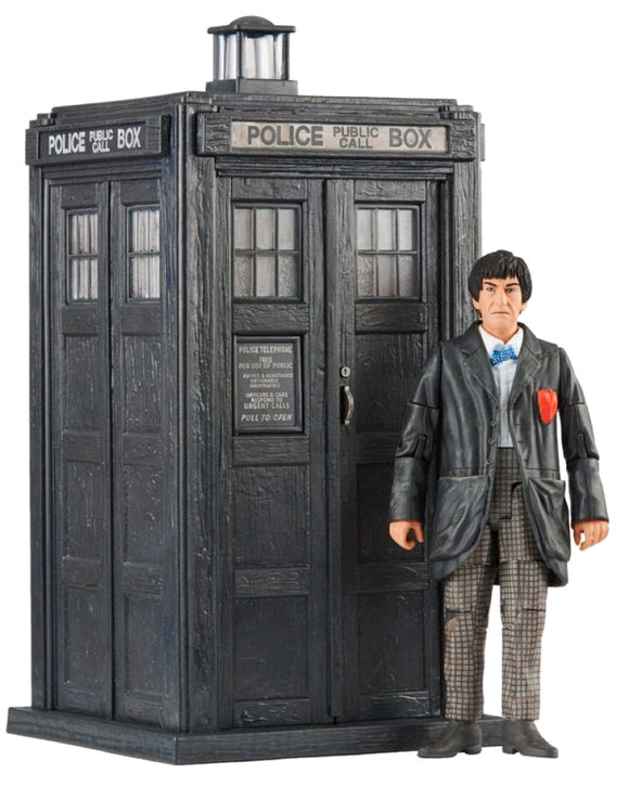 Doctor Who - Second Doctor and TARDIS Set