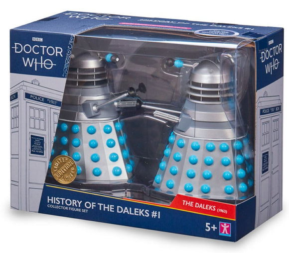 Doctor Who - History of the Daleks Twin Pack Assortment #1