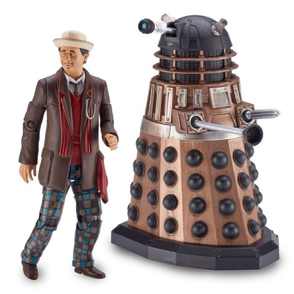 Doctor Who - Big Finish Action Figure 2-Pack Seventh Doctor and Axis Strike Squad Dalek