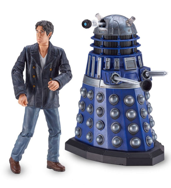 Doctor Who - Big Finish Action Figure 2-Pack Eighth Doctor and Dalek Interrogator Prime