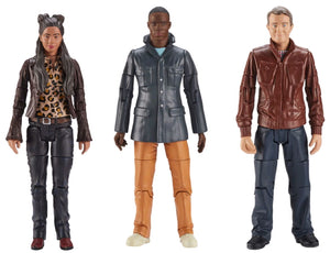 Doctor Who - Thirteenth Doctor Companions Action Figure 3-pack