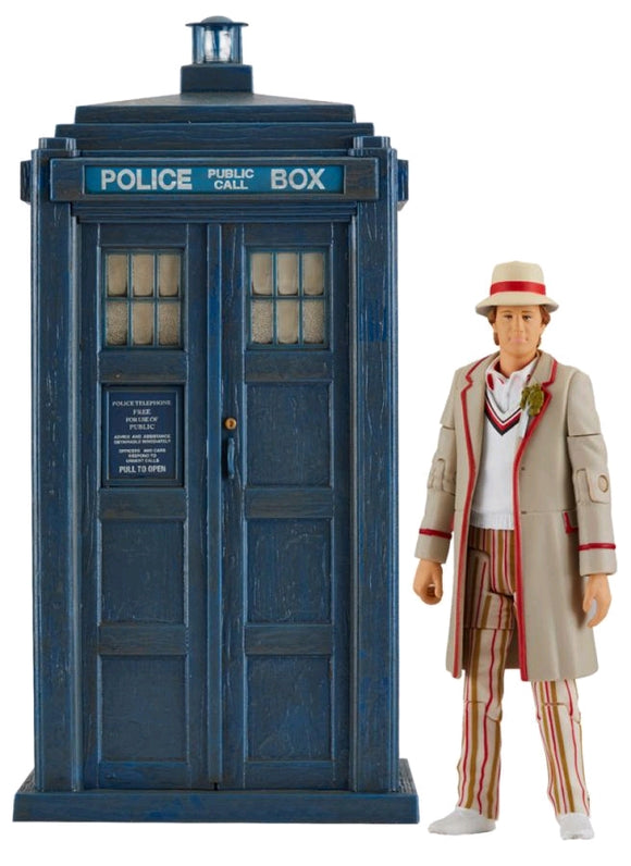 Doctor Who - Fifth Doctor & TARDIS Castrovala