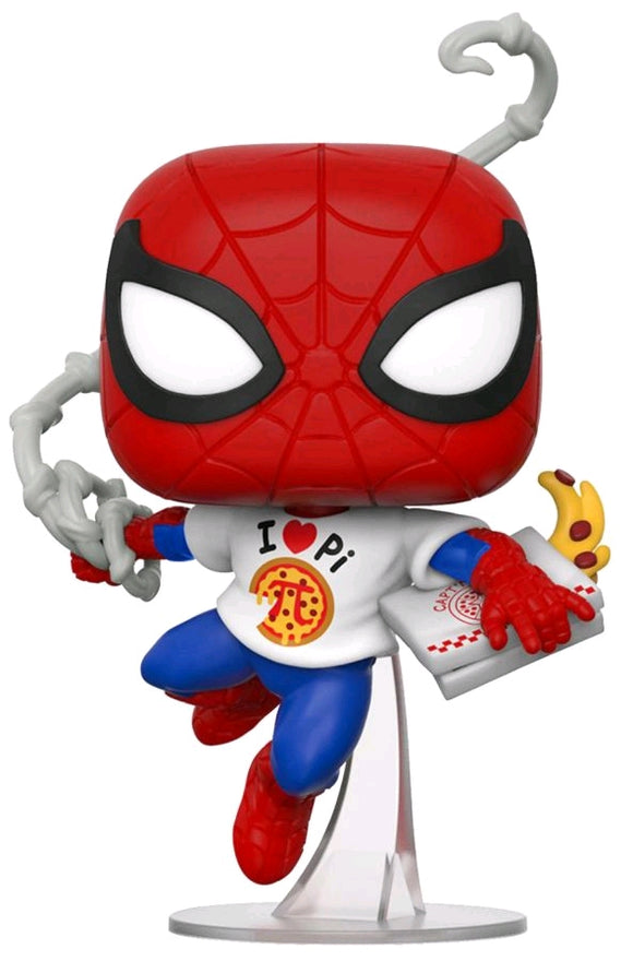 Spider-Man - Spider-Man with Pi Shirt US Exclusive Pop! Vinyl [RS]