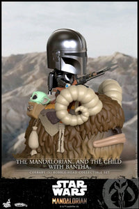 Star Wars: The Mandalorian - Mandalorian & The Child on Bantha Riding Cosbaby