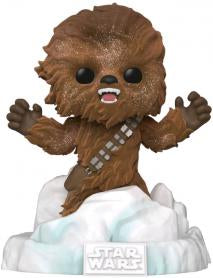 Star Wars - Chewbacca Flocked US Exclusive Pop! Deluxe Diorama [RS]