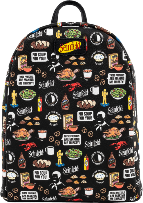Seinfeld - Food Mini Backpack