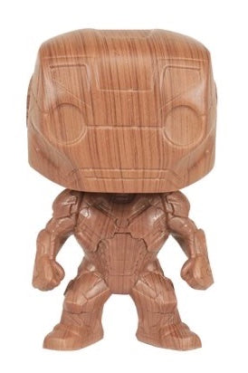 Iron Man - Iron Man Wood Deco US Exclusive Pop! Vinyl [RS]