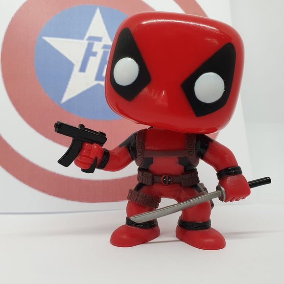 Marvel - Deadpool Glow in the Dark Out of Box Pop! Vinyl