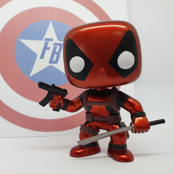Marvel - Deadpool SDCC 2013 Exclusive Metallic Out of Box Pop! Vinyl