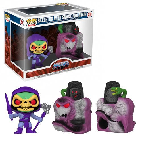 Masters of the Universe - Snake Mountain with Skeletor Pop! Town