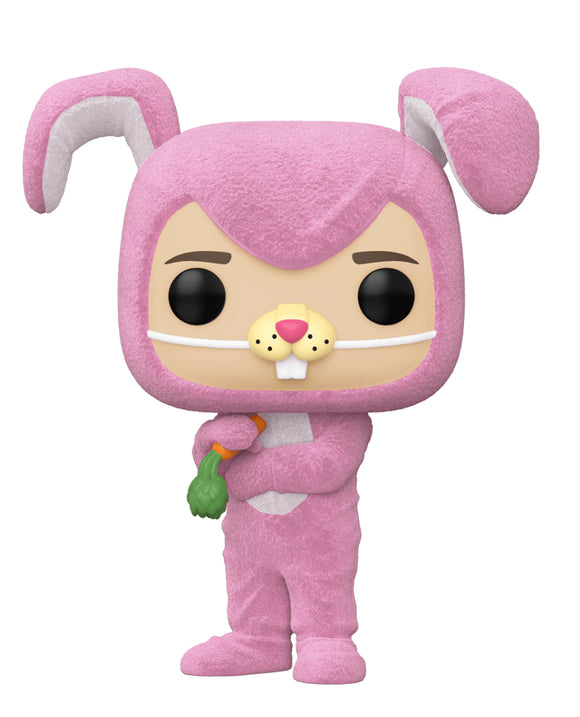 Friends - Chandler as Bunny Flocked US Exclusive Pop! Vinyl [RS]