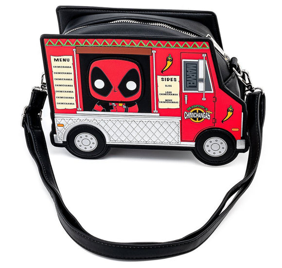 Deadpool - Chimichanga Food Truck 30th Anniversary Loungefly Crossbody