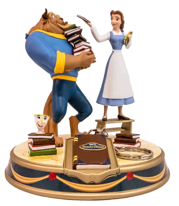 Beauty and the Beast - Belle & Beast Finders Keypers Statue