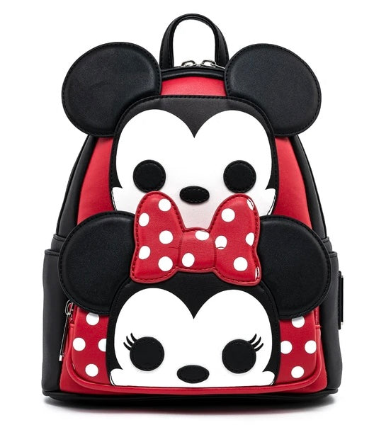 Mickey Mouse - Mickey & Minnie Loungefly Mini Backpack
