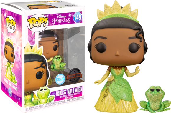 The Princess and the Frog - Tiana & Naveen Glitter US Exclusive Pop! Vinyl [RS]