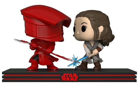 Star Wars - Rey & Praetorian Guard Movie Moments Pop! Vinyl