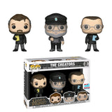 Game of Thrones - The Creators NYCC 2018 Exclusive Pop! Vinyl 3-pack [RS]