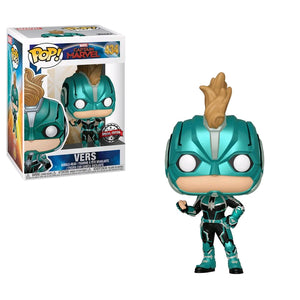 Captain Marvel - Vers Masked US Exclusive Pop! Vinyl [RS]