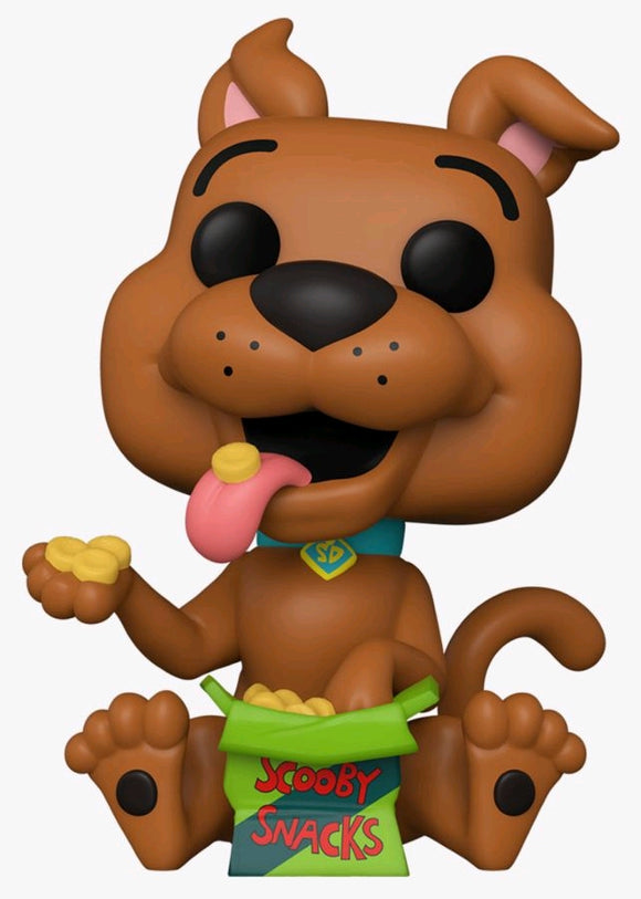 Scooby Doo - Scooby with Snacks US Exclusive Pop! Vinyl [RS]