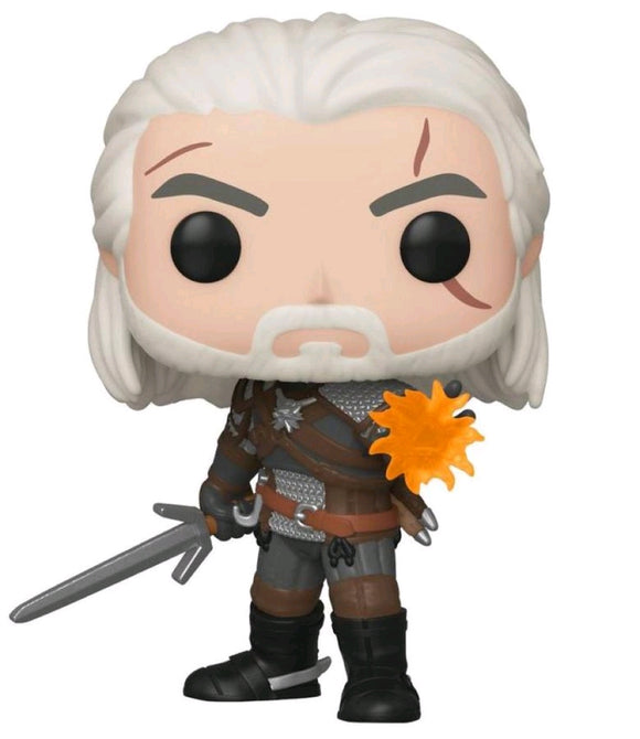 The Witcher 3: Wild Hunt - Geralt Glow US Exclusive Pop! Vinyl [RS]