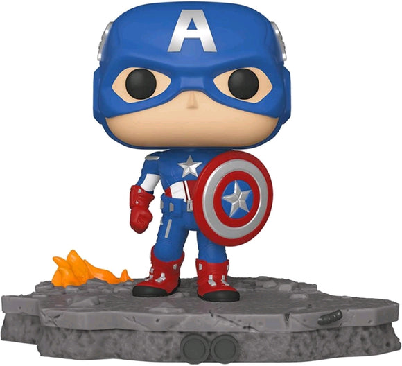 Avengers - Captain America (Assemble) US Exclusive Pop! Deluxe [RS]