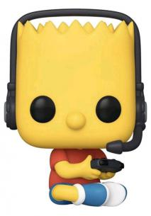 The Simpsons - Gamer Bart US Exclusive Pop! Vinyl [RS]