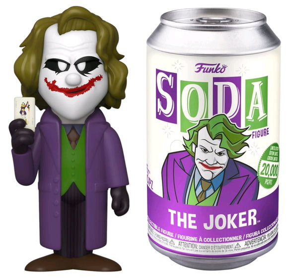 Batman: The Dark Knight - Joker Vinyl Soda