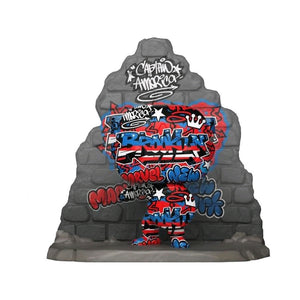 Captain America - Graffiti Deco US Exclusive Pop! Deluxe [RS]