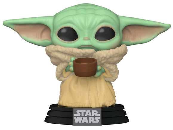 Star Wars: The Mandalorian - The Child with Cup Pop! Vinyl