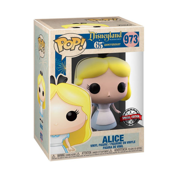 Disneyland 65th Anniversary - Alice US Exclusive Pop! Vinyl [RS]