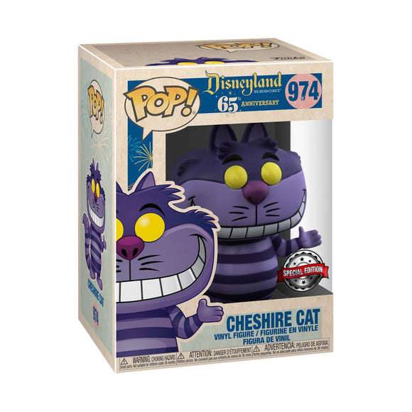 Disneyland 65th Anniversary - Cheshire Cat US Exclusive Pop! Vinyl [RS]
