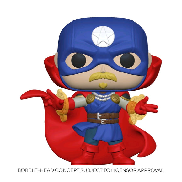 Infinity Warps - Soldier Supreme Pop! Vinyl