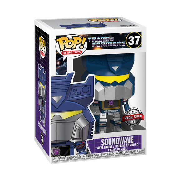 Transformers - Seige Soundwave US Exclusive Pop! Vinyl [RS]