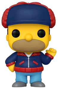 The Simpsons - Homer Mr Plow US Exclusive Pop! Vinyl [RS]