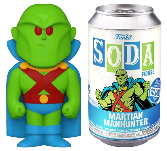 DC Comics - Martian Manhunter Vinyl Soda