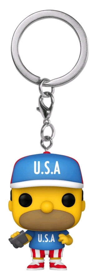 The Simpsons - Homer U.S.A. Pocket Pop! Keychain