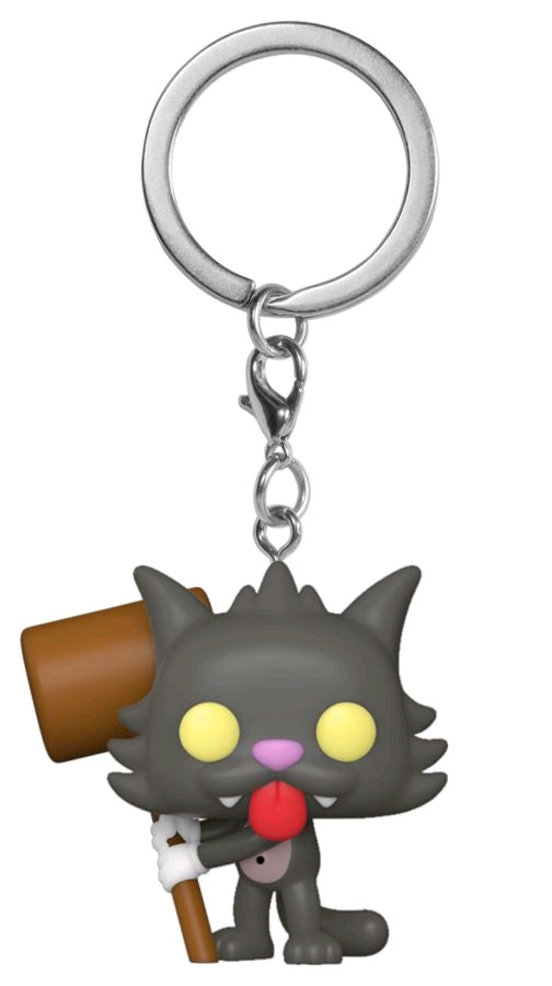 The Simpsons - Scratchy Pocket Pop! Keychain