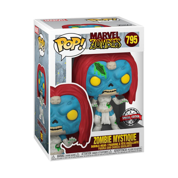 Marvel Zombies - Mystique US Exclusive Pop! Vinyl [RS]