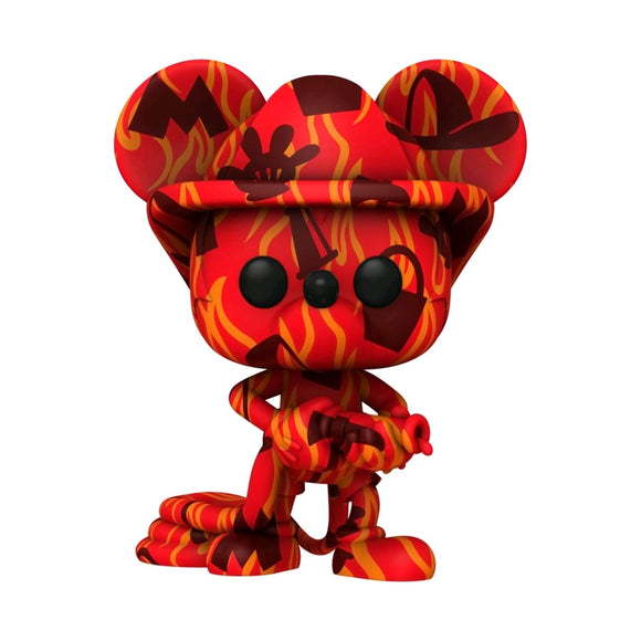Mickey Mouse - Firefighter (Artist) US Exclusive Pop! Vinyl [RS]