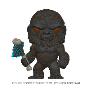 Godzilla vs Kong - King Kong with Scepter Flocked US Exclusive Pop! Vinyl [RS]