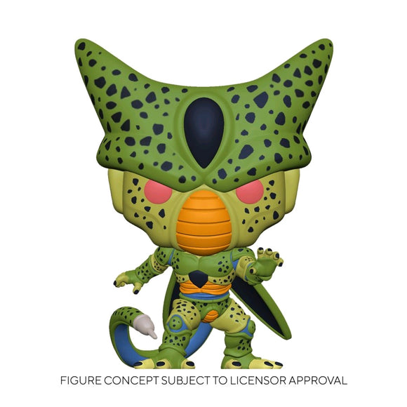 Dragon Ball Z - Cell First Form Glow US Exclusive Pop! Vinyl [RS]