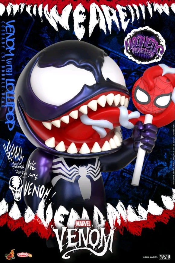 Venom - Venom with Lollipop Cosbaby