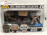 Star Wars - Tarful/Unhooded Emperor/Utapau Clone Pop! Vinyl Figure 3-Pack