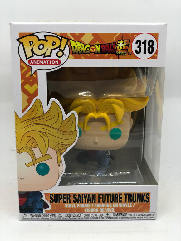 Dragon Ball Super - Super Saiyan Future Trunks US Exclusive Pop! Vinyl