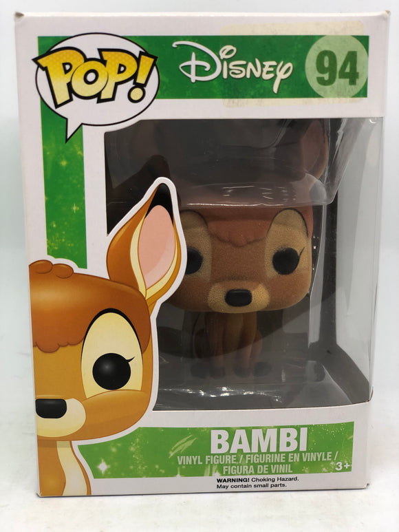 Disney - Bambi (Flocked) Pop! Vinyl