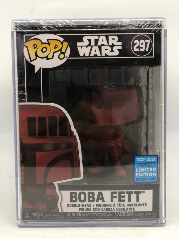 Star Wars - Boba Fett Wondercon 2020 Exclusive Pop! Vinyl